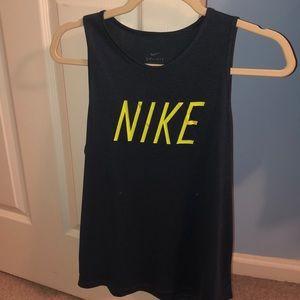 a nike sleeveless shirt